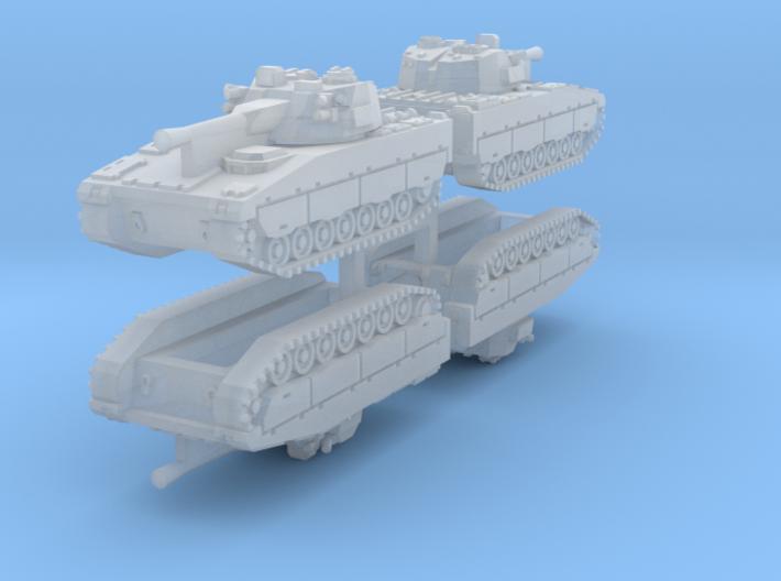 1/350 CV90 IFVs (4pcs) 3d printed