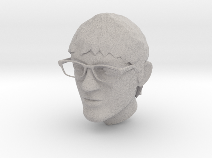 HEAD Of Acss 3d printed