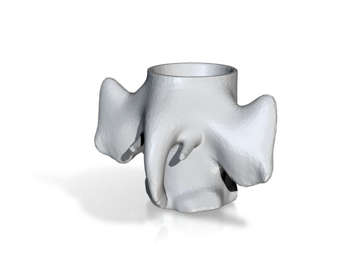 Elephant Mug 3d printed