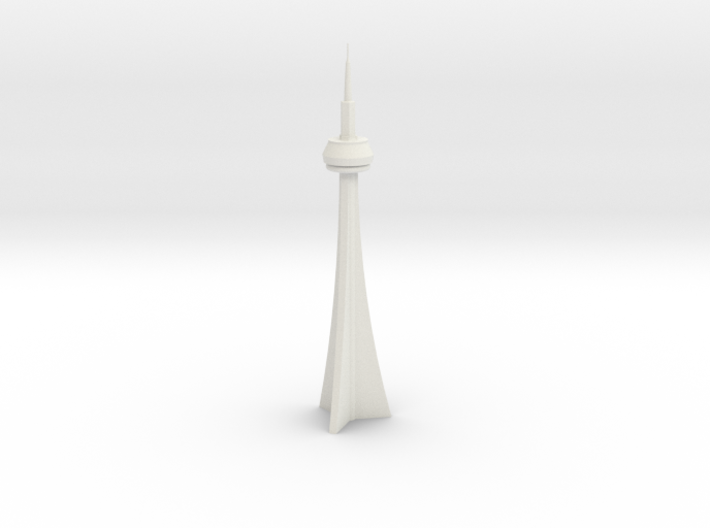 CN Tower (1/2000) 3d printed