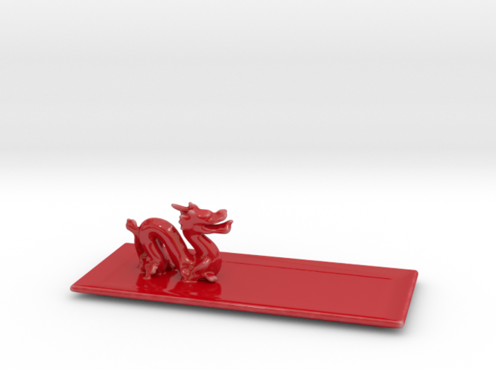 Dragon Plate 3d printed