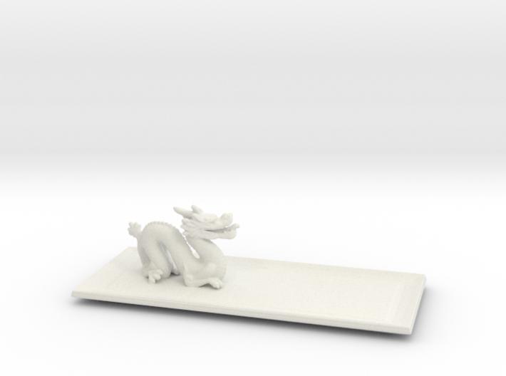 Dragon Plate 3d printed