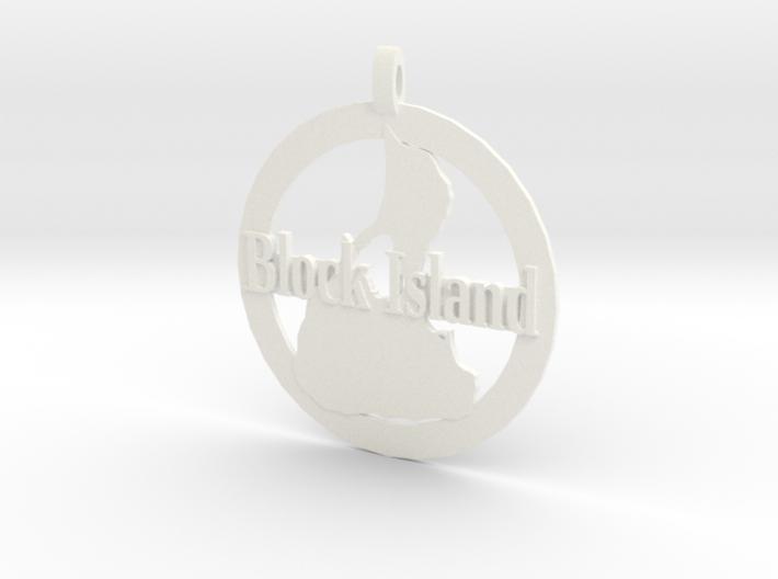 3D Printed Block Island Coin 3d printed