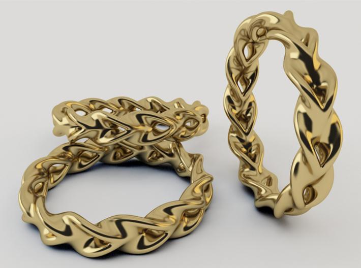 Optical Illusion Ring 3d printed 3D Render