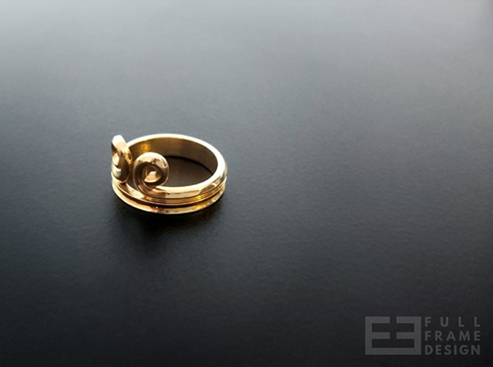 """Sun Wukong """"Monkey King"""" Ring (Multiple Sizes) 3d printed"""