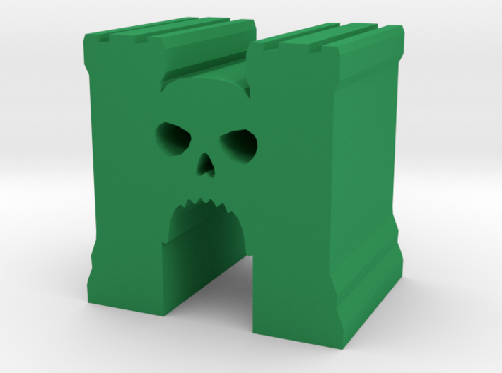 Game Piece, Skull Castle 3d printed