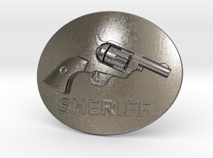 Colt Belt Buckle 3d printed