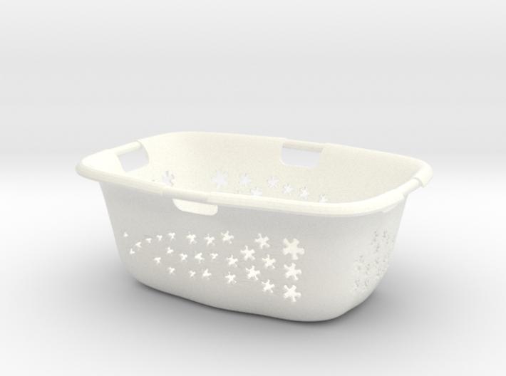 1:6 Wäschekorb - Laundry Basket 3d printed