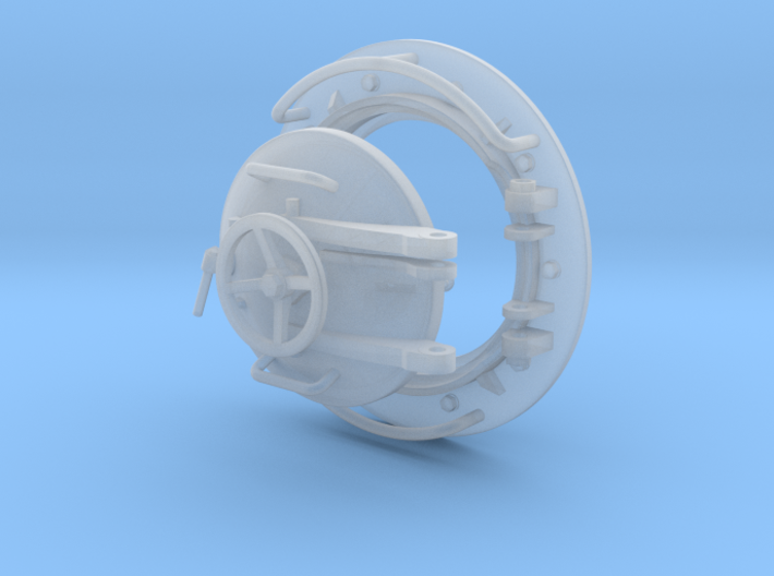1/35 Fish Submersible Hatch 3d printed