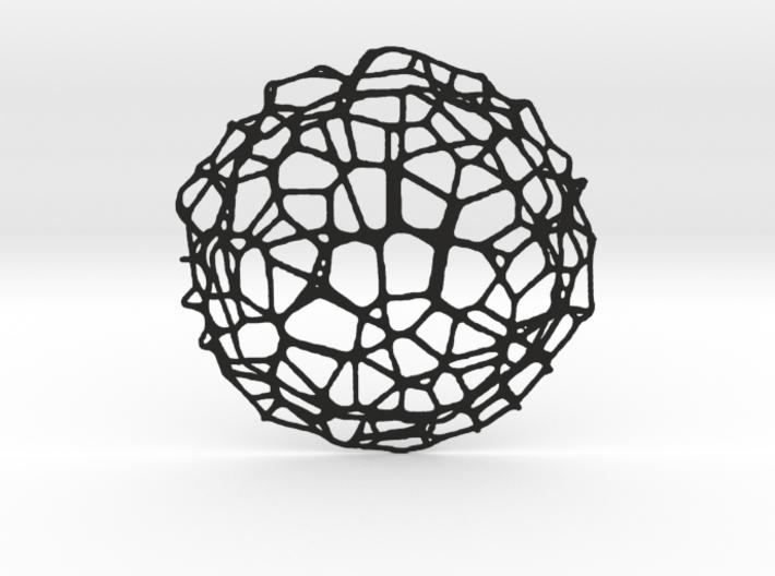 Coaster - Voronoi #9 (14 cm) 3d printed