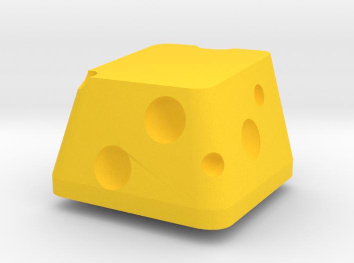 Topre Cheese Keycap 3d printed