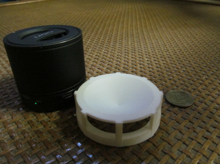 UGO Bluetooth Speaker Top 3d printed