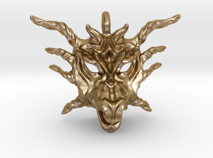 Sunlight Dragon Pendant 3d printed