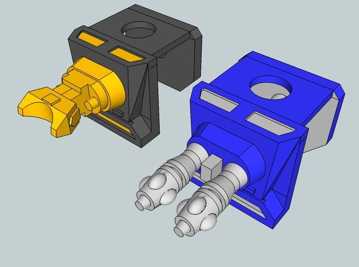 Stellar Mech Vests 3d printed