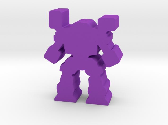 Game Piece, Heavy Artillery Mech 3d printed