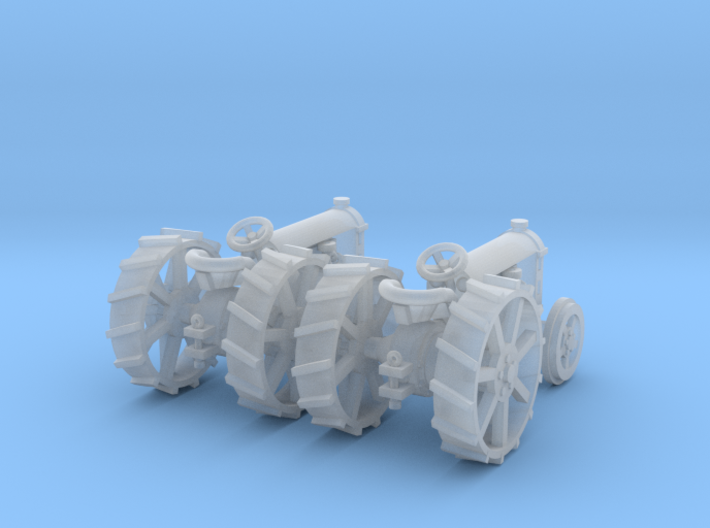 2 Fordson Tractors TT Scale 3d printed 2 fordson tractors TT scale