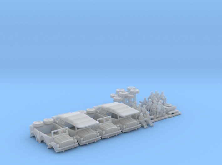 HORCH 108 a1 - (4pack) 3d printed