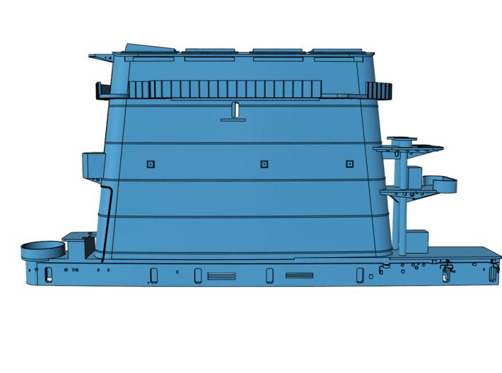 1/350 Lexington '42 Funnel 3d printed