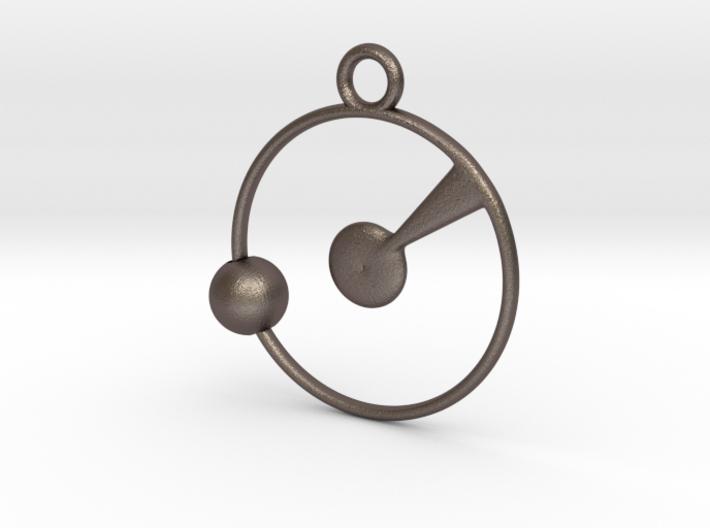 Orbit Pendant 3d printed