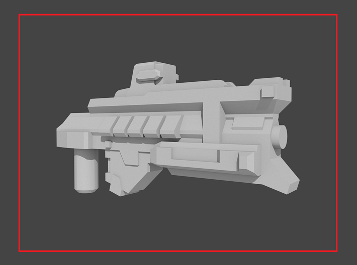 """""""CENTRALIZER"""" Transformers Weapon (5mm post) 3d printed"""