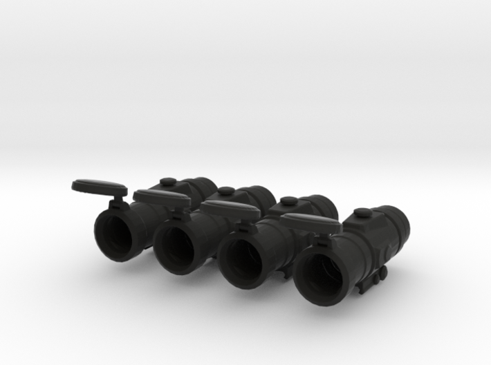 Optical Scope 1:6 Scale (4 Pack) 3d printed