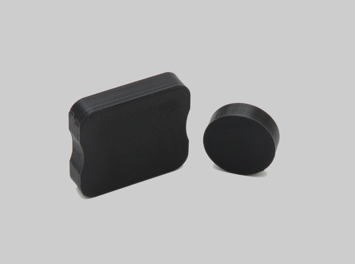 HType Lens Caps for GoPro 3 3+ & 4 Protective Lens 3d printed