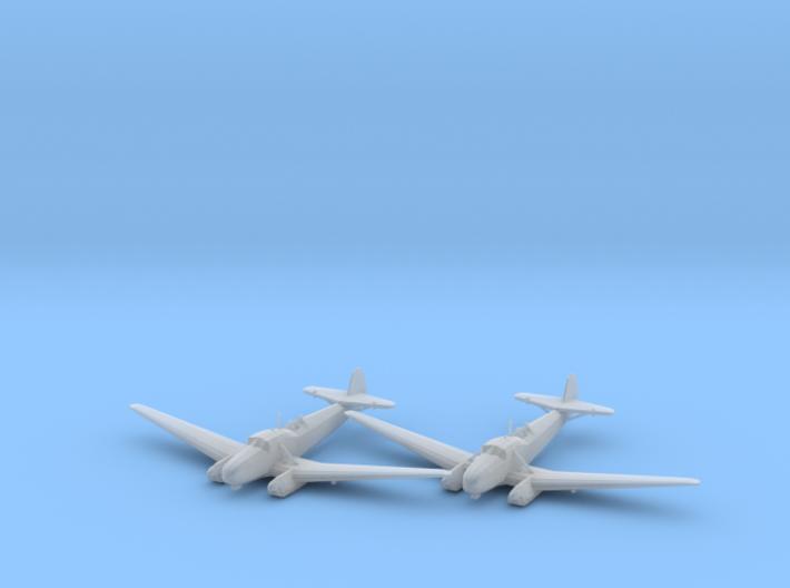 Focke-Wulf Fw.58B 'Weihe' 1:200 x2 FUD 3d printed