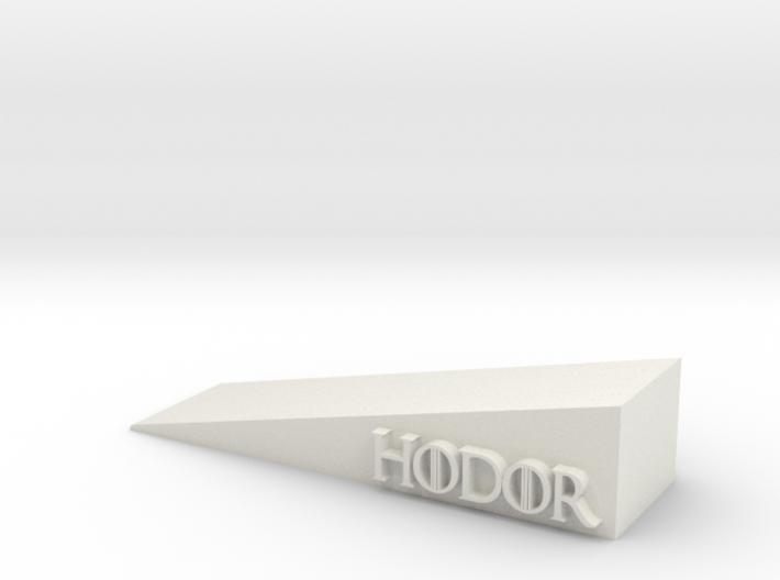 Hodor 3d printed