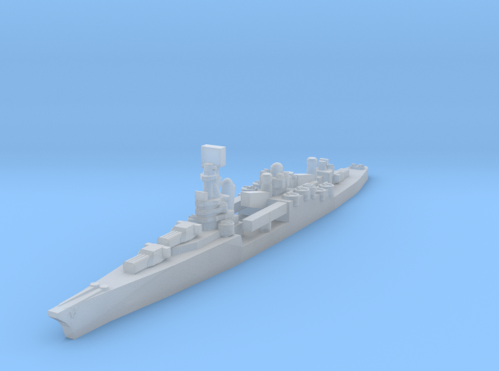 USN Portland class 1/4800 3d printed