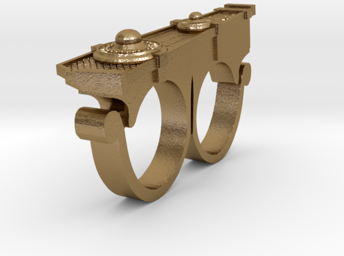 Doctor Strange's RIGHT Hand Ring (Size 9) 3d printed