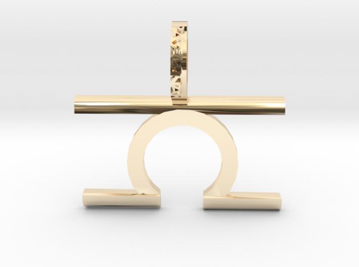 Libra (Zodiac)- Pendant 3d printed