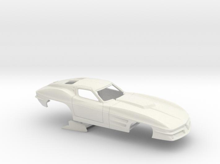 1/24 1963 Pro Mod Corvette No Scoop 3d printed