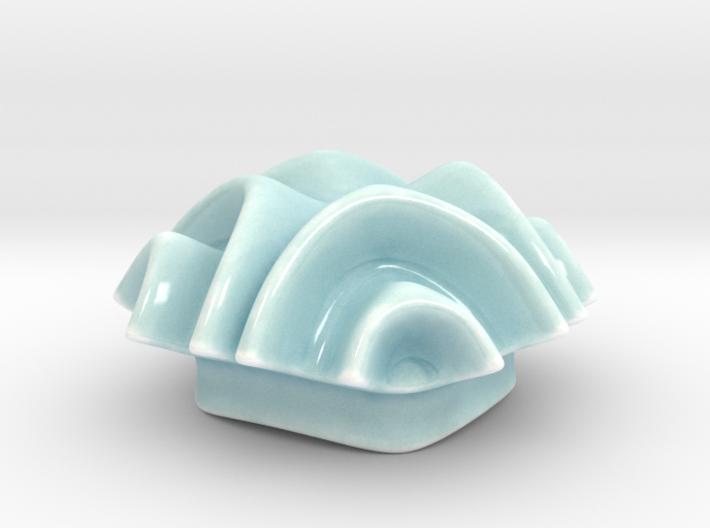 Ripple Sugar Bowl Lid  3d printed