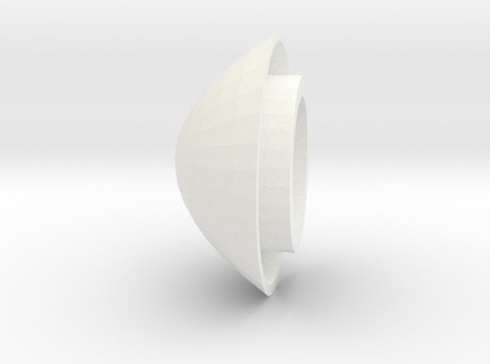 Trache Cap For White Valve 3d printed