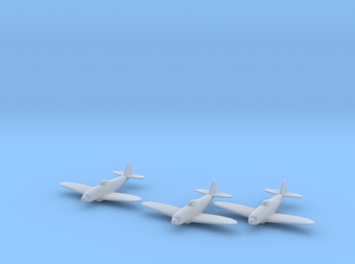 Republic XP-72 1:285 x3 FUD 3d printed