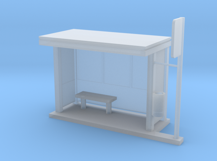 MOF BusStop Frosted[72-1] 3d printed