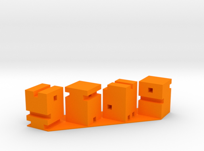 VIDO GAMS Desk Sculpture  3d printed