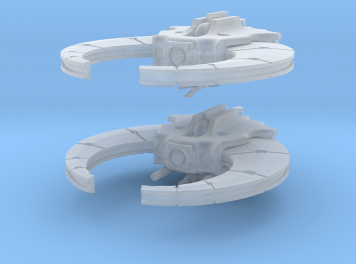 Deathbot Calamity Sickle Fleet 3d printed