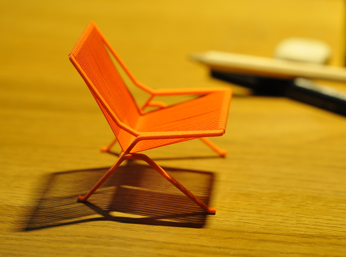 PK25 Style Chair 1/12 Scale 3d printed