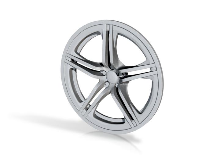 Racing Wheel Cover 01_43mm 3d printed