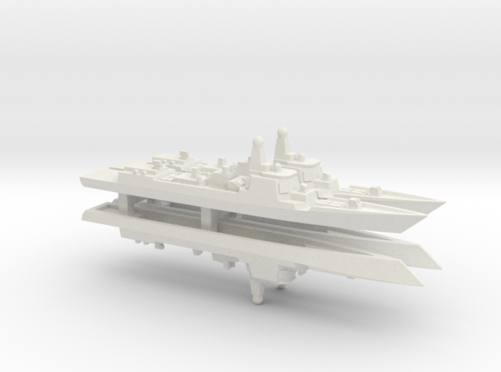 Type 052D Destroyer x 4, 1/2400 3d printed