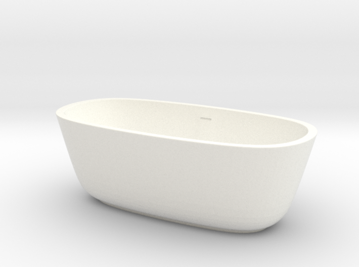 1:48 Bath Tub 3d printed