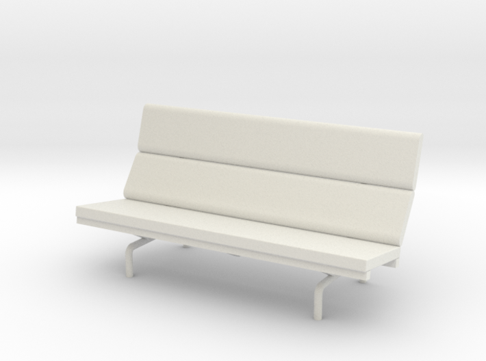 1:24 Eames Compact Sofa 3d printed