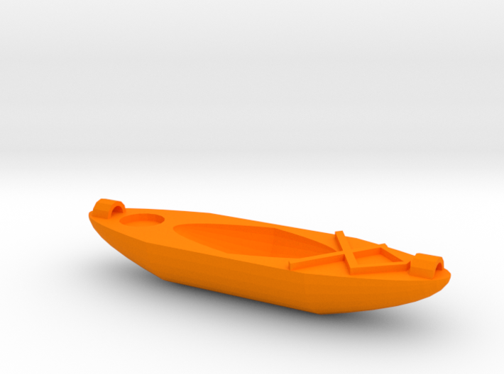 Kayak Ornament 3d printed