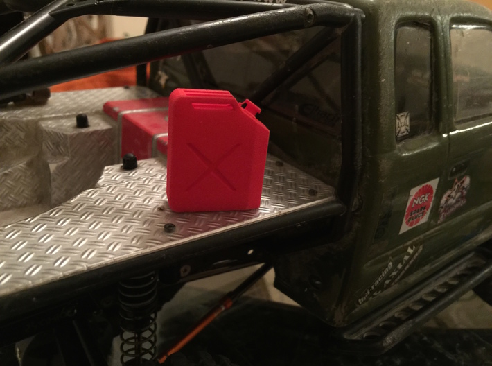 Jerry Gas Can 3d printed