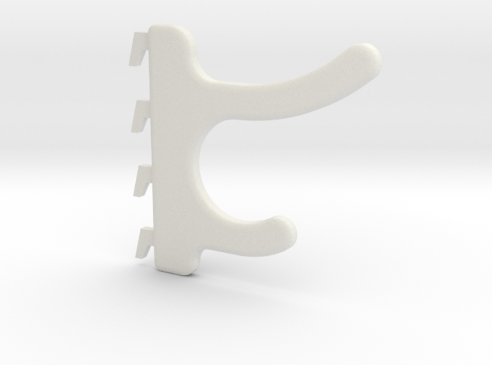Cubicle Coat Hook 3d printed