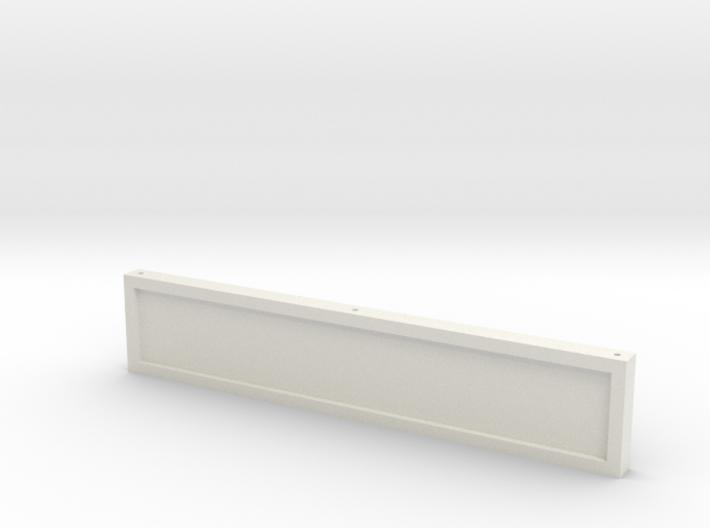 Zaunhalter Querträger 43mm Ohne Tür 3d printed