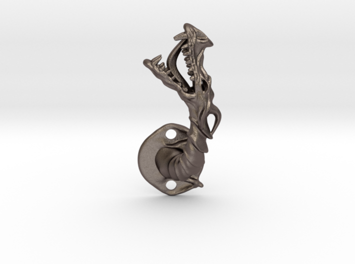 Dragon Cabinet Handle - Facing left 3d printed