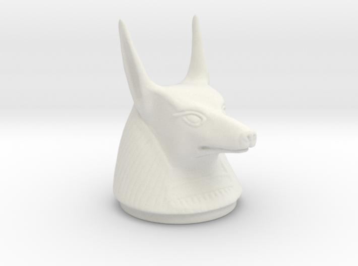 Canopic Jar Anubis Lid 3d printed