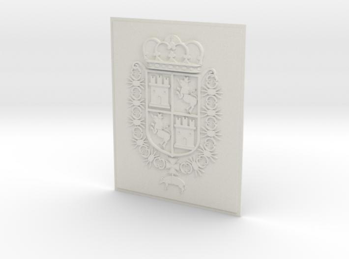 Spain COA 8x10_Castillo de San Marcos_St. Aug. FL. 3d printed